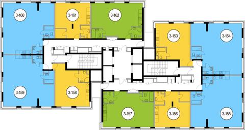 Москва, 1-но комнатная квартира, Головинское ш. д.10, 8385950 руб.