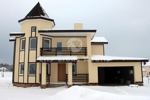 Новорижское ш, 55 км от МКАД, кп Ла-Манш. Двухэтажный коттедж из пено