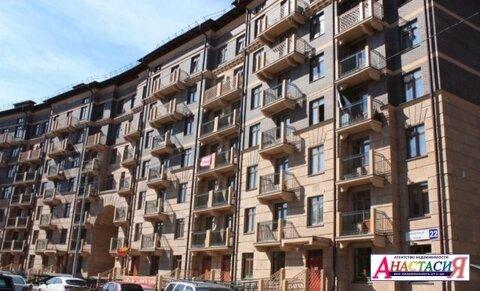 """1-комнатная квартира, 31 кв.м., в ЖК """"Город набережных"""""""