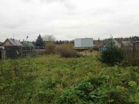 В охраняемом с/т продается участок, коммуникации по границе, 1700000 руб.