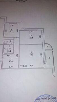 2-к квартира, Щелково, Соболевка 2