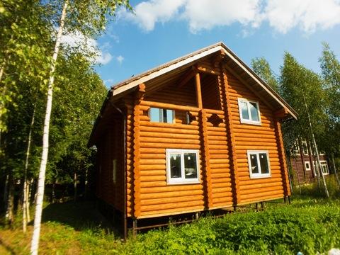 Коттедж 160м2, 10сот, Киевское ш, 55 км, в лесу, уникальное место