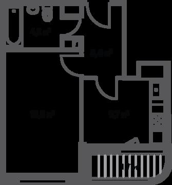 Москва, 1-но комнатная квартира, Кавказский б-р. д.вл. 27, корп.2, 6454064 руб.