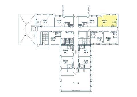 Москва, 1-но комнатная квартира, ул. Радиальная 6-я д.7, к 35, 4445065 руб.