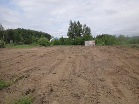 Большой участок для строительства дома рядом с Москвой