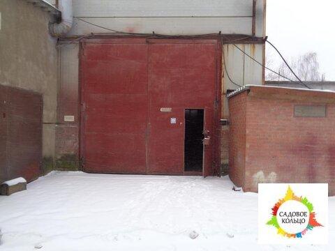 Неотапливаемый склад 656 м2, капитальное строение