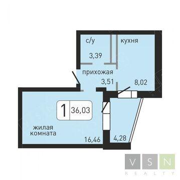 Ивантеевка, 1-но комнатная квартира, ул. Хлебозаводская д.10, 2071725 руб.