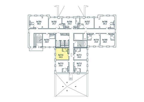 Москва, 1-но комнатная квартира, ул. Радиальная 6-я д.7, к 35, 2850477 руб.