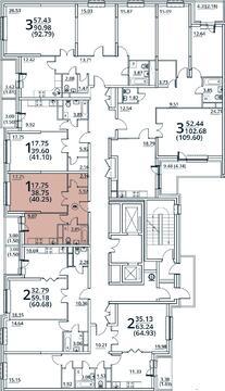 Москва, 1-но комнатная квартира, ул. Радиальная 6-я д.7, 4516050 руб.