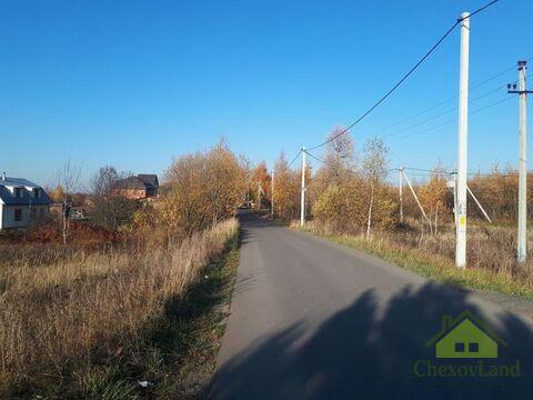 Участок в деревне Лешино