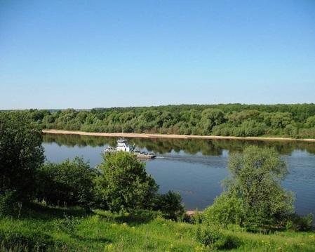 Продам дом на берегу Оки (первая линия от реки) в д. Ланьшино М/о