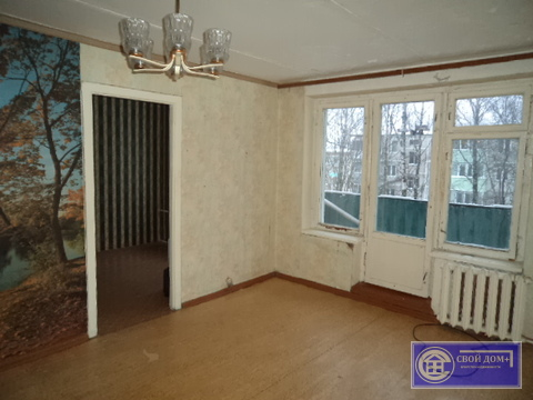 2-комнатная квартира на 4 этаже в п.Сычево Волоколамского р-на