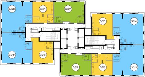 Москва, 3-х комнатная квартира, Головинское ш. д.10, 16285500 руб.