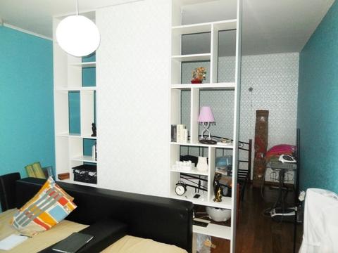 1-ком. квартира 46.6 кв.м. Этаж: 10/10 монолитно-кирпичного дома.