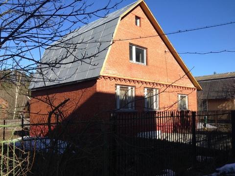 Дачный дом на 6 сотках в СНТ вблизи п. Тучково, Рузский район