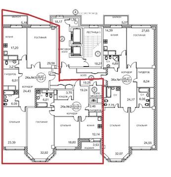 5-комнатная квартира, 213 кв.м., в ЖК Royal House on Yauza