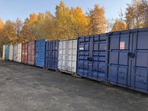 Аренда контейнера под склад и боксов для индивидуального хранения