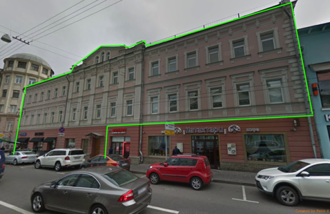 Продажда здания 1886м на ул.Сретенка