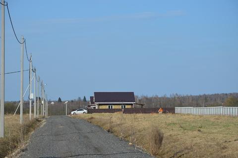 Участок в поселке у реки, д. Заречье, г. Можайск, 85 км Минское шоссе