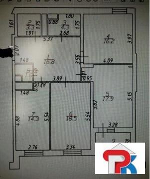 """3-комнатная квартира, 98 кв.м., в ЖК """"M-House"""""""