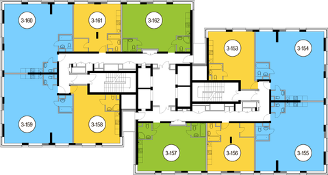 Москва, 3-х комнатная квартира, Головинское ш. д.10, 15101100 руб.