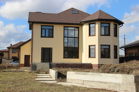 Двухэтажный дом в охраняемом коттеджном поселке Старые Кузьменки