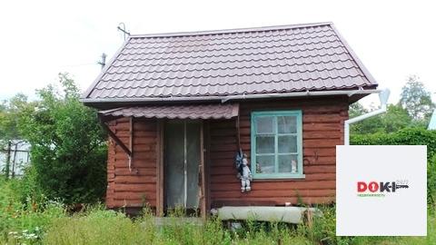 Бревенчатая дача 35 кв.м. на участке 5 соток микр-н Керва г. Шатуры