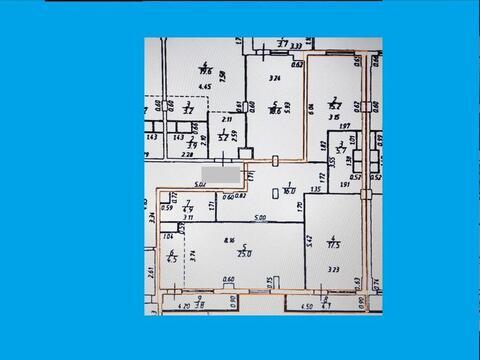 Продается 3 к квартира в Балашихе (96,7) 88,8 кв.м. в Лукино, 51а
