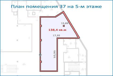 Помещение свободного назначения 138,4 кв.м в новом ТЦ, 6 км от МКАД