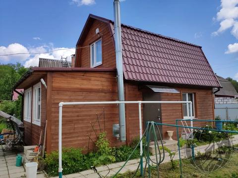 Теплый двухэтажный дом и баня на участке 5 сот. СНТ Лесная быль