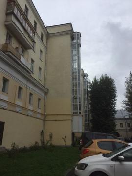 3-х к.кв-ра Москва ул. Красноказарменная 3. 92,4 м, огорож. территория