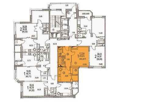 Москва, 1-но комнатная квартира, ул. Радиальная 6-я д.7, к 24, 5112837 руб.