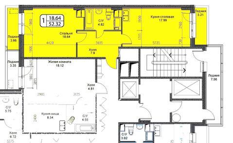 Октябрьский, 1-но комнатная квартира, ул. Ленина д.25, 3350000 руб.