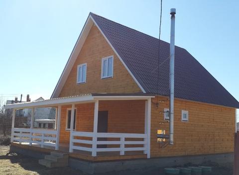 Продается новый дом 130м2 в кп Булгаково Лайф, 27км Носовихинское ш