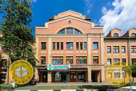 Аренда, нежилое помещение – 145,7 кв.м. Звенигород, Комарова 13, центр