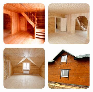 Новый дом в д. Речки. 6 комнат, 2 с/у. Эл, вода, септик, отопл. 20 сот