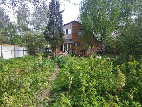 Участок 14 соток чс частью дома в д. Белозерово