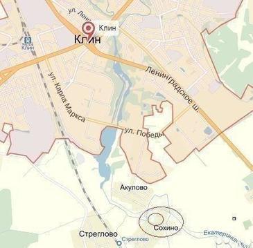 Участок под ИЖС д.Сохино, Клин