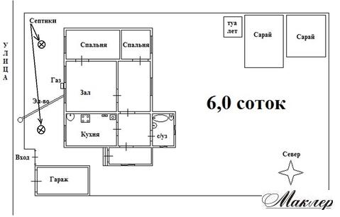 Дом ПМЖ, земля 6 сот, г. Электросталь, ул. Металлургов, Московская обл
