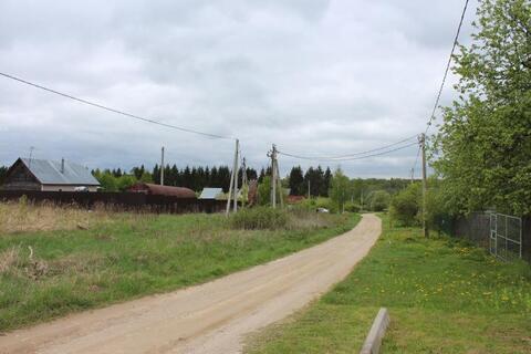 Участок 24 сотки на берегу озера в деревне М. Парфенки