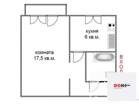 Продается однокомнатная квартира 31 кв.м