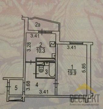 Продаётся 1-комнатная квартира по адресу Лухмановская 17к1