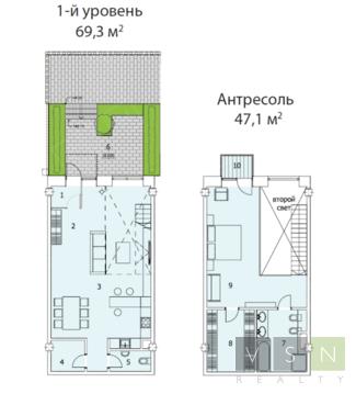 Продается квартира г.Москва, Столярный переулок