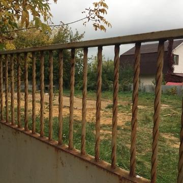 Земельный участок 10 соток с железным вагончиком