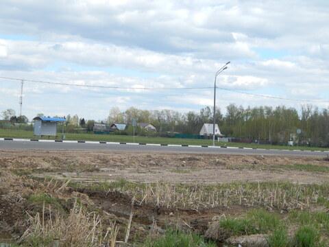 Участок 20 соток рядом с дорогой в д.Шелковка