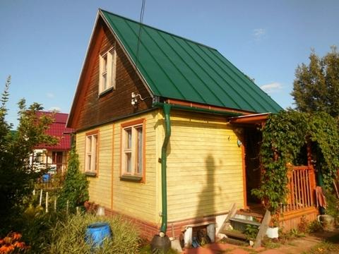 Каркасно-щитовая дача 50 (кв.м). Летний домик. Участок 8 соток., 850000 руб.