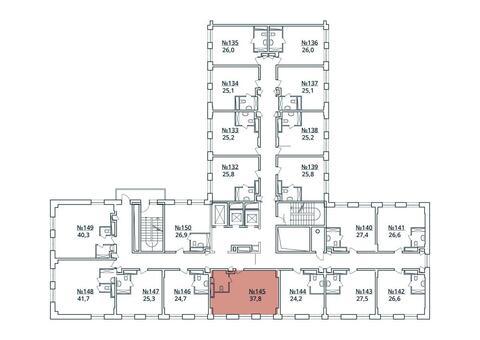 Москва, 1-но комнатная квартира, ул. Радиальная 6-я д.7, к 35, 4113105 руб.