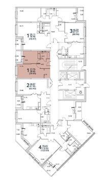 Москва, 1-но комнатная квартира, ул. Радиальная 6-я д.7, к 28/29, 3835200 руб.