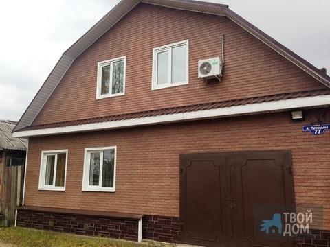 Жилой дом в г Егорьевске, ул Алексея Тупицина, д 77, 2 этажа,