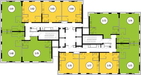Москва, 1-но комнатная квартира, Головинское ш. д.10, 7351400 руб.